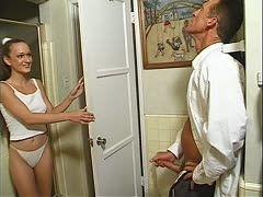 Beim masturbieren erwischt
